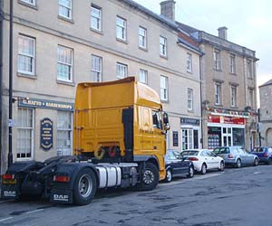 If you close the lorry park, what do you get?