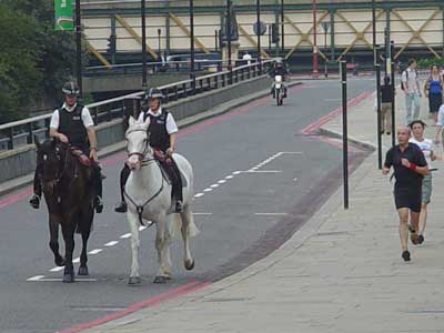 The City of London Police and their modern transport