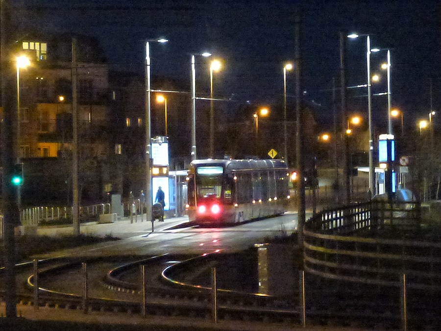 Dublin Luas at Citiwest