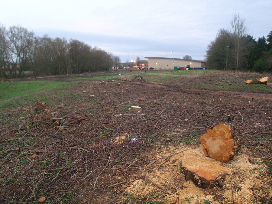 Clearing the ground for a bigger Sainsburys - February
