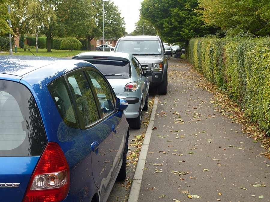 Car parking and street parking - September