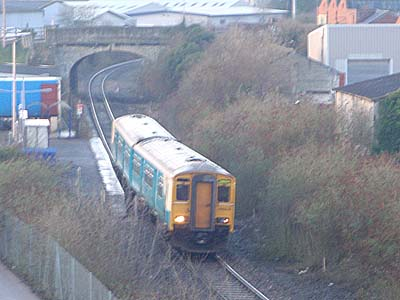 Swindon Train at Melksham