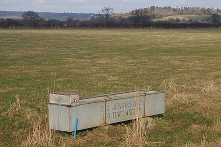 Old Water Trough, near Melksham, made in Kington Langley