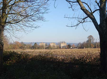 Melksham Spa Houses Across the fields