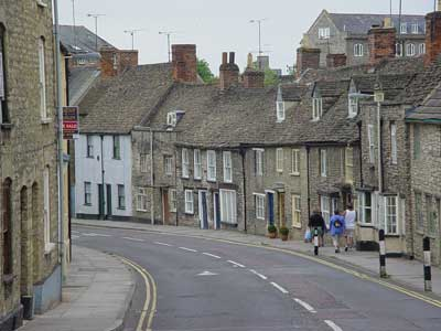 Malmesbury - main road in