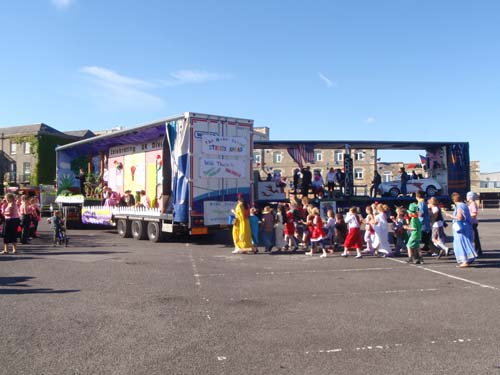 Float - Melksham Carnival