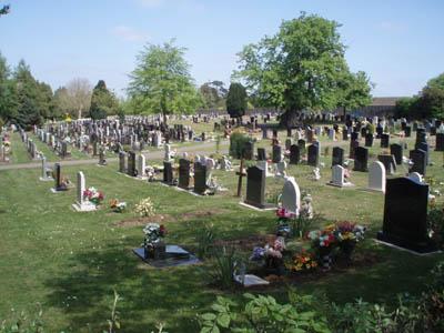 A well kept cemetery - Melksham