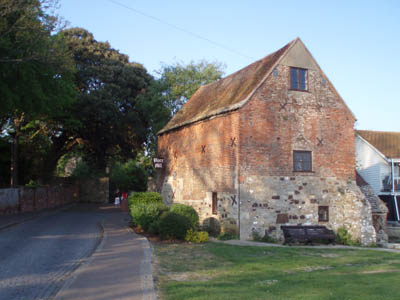 The Mill on the front