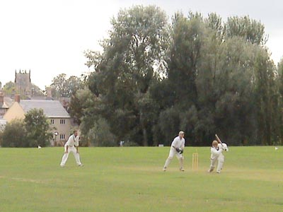 Cricket in Melksham
