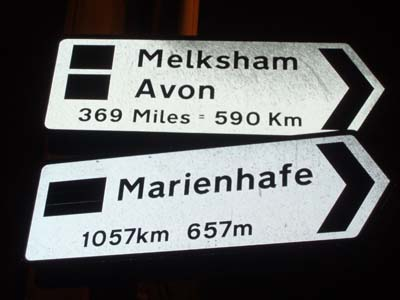 Melksham is twinned with Avon and Marienhafe