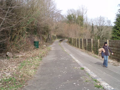Midford - The Somerset and Dorset platform