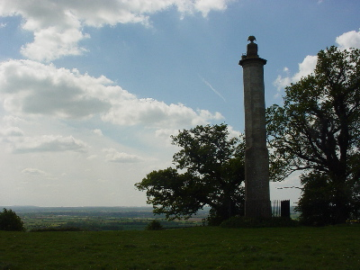 Maud Heath - Monument on Wick Hill
