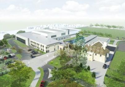Melksham Campus - this passed planning!