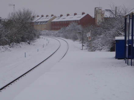 Melksham in the snow