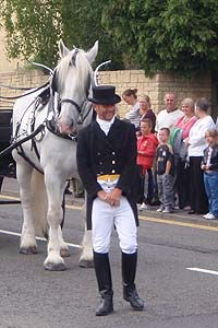 Horse and Groom