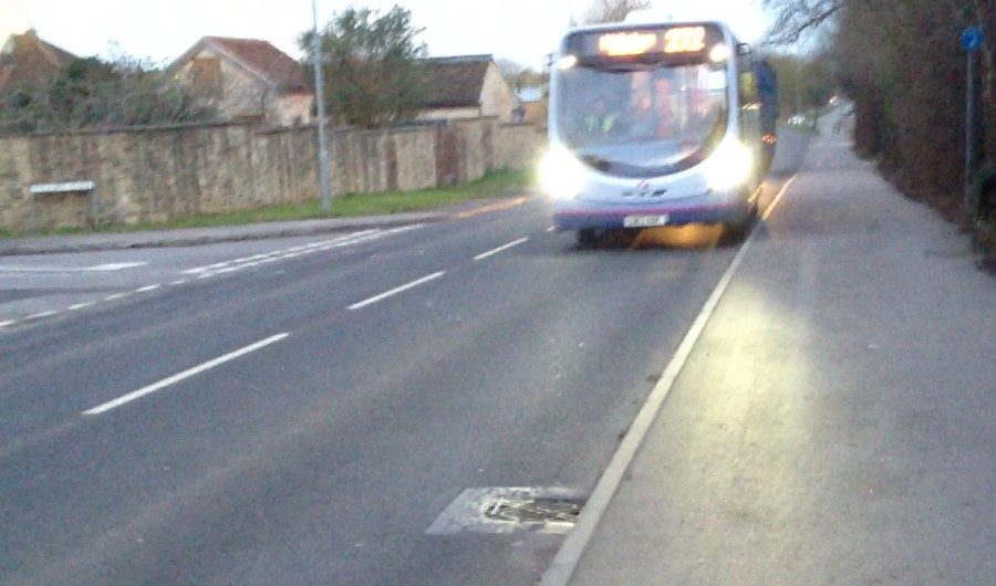 Mallory Place bus stop, Melksham