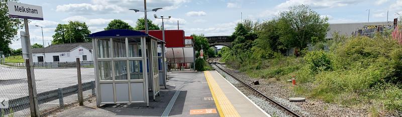 Trains at Melksham
