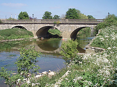 The river Avon at Melksham