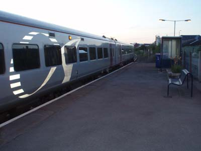 Evening Train at Melksham