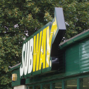 Melksham Subway Sign