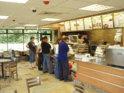 New Subway Restaurant in Melksham