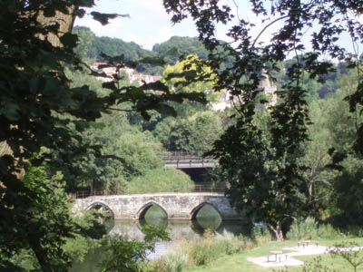 Foot and Rail bridges over the Avon