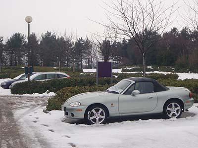 Milton Keynes Snow