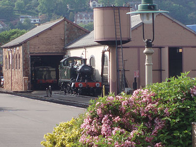 West Somerset Railway Train, Minehead