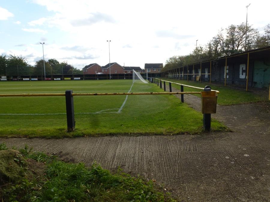 Soccer ground - Melksham Town FC