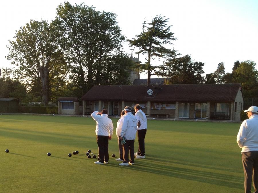 Bowling at Melksham House