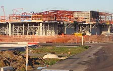 Melksham Oak School under construction