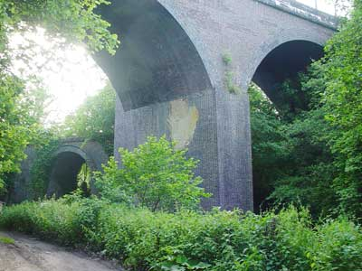 Midford - the two viaducts