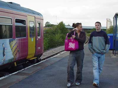 More train users at Melksham