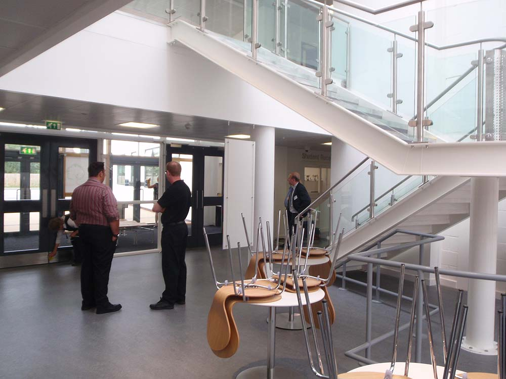 Visitors reception - Melksham Community School