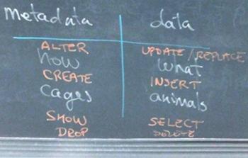 Data v Metadata
