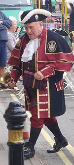Peter Dauncey, Melksham Town Crier