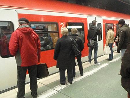 SBahn, Frankfurt Main Hauptbahnhof