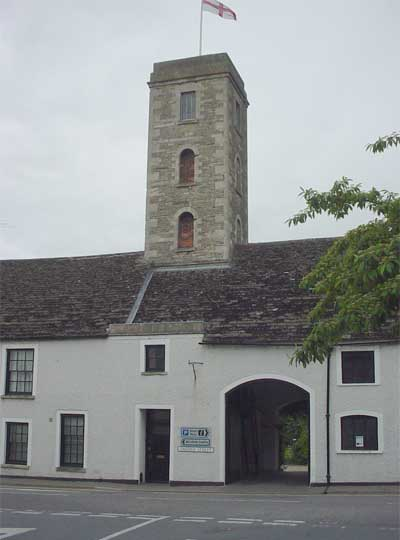 Tower in Malmesbury