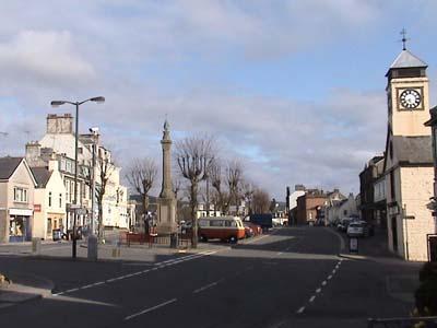Moffat town centre