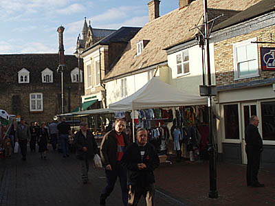 Ely Pedestrian Area