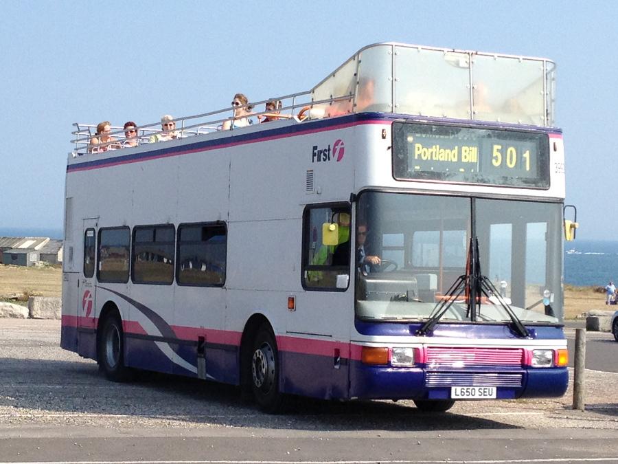 Weymouth open top bus