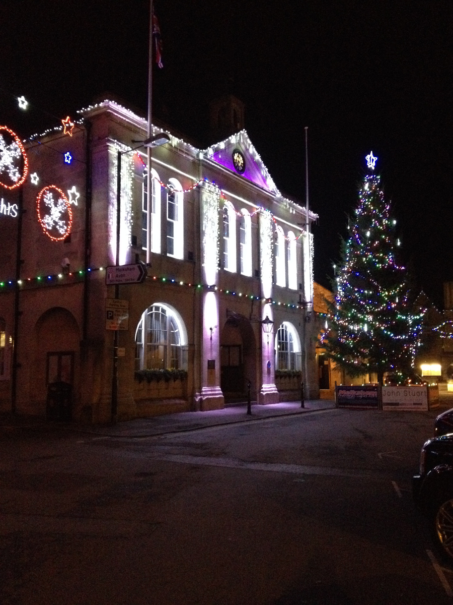 Melksham Town Hall celebrates Christmas