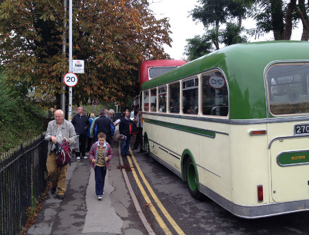 Westbury - vintage bus running day