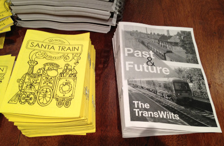Literature promoting the TransWilts line