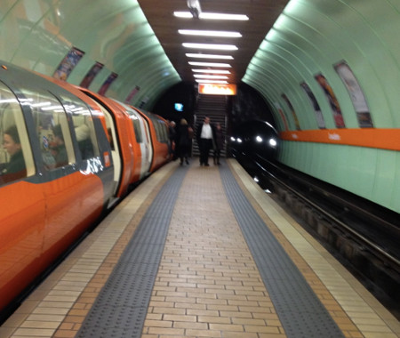 the Glasgow Underground