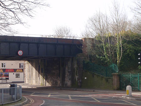 Tauton Avoiding Line bridge