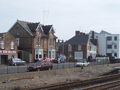Up side West bay, Taunton Station