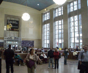 Newark, New Jersey - Penn Central ticket hall