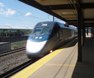 Acela rushes through New Carrelton
