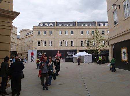 New shops - Bath